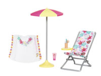 BABY born® Holiday Deckchair Set 43 cm 829264 – BABY born®