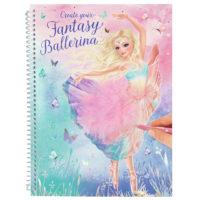 Fantasy Suunnittelukirja Baletti – TOPModel