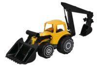 Kauhatraktori ja kaivuri – Plasto