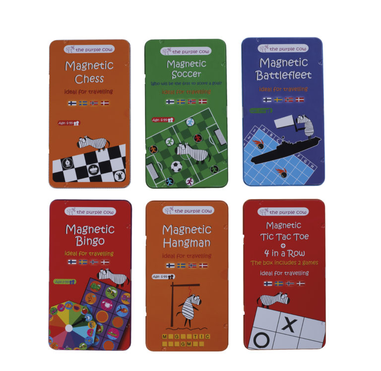 Magnetic Travel Games  569 – Amo Toys Games