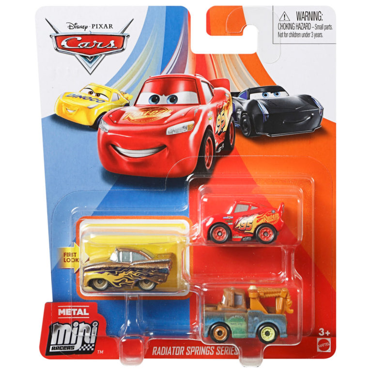 Cars Mini Racers 3-Pack – Disney Cars