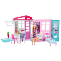 Barbie® House with Doll – Barbie