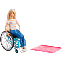 Barbie® Fashionistas® Doll with Wheelchair – Barbie