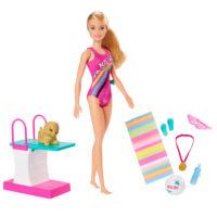 Barbie™ Dreamhouse Adventures Swim 'n Dive™ Doll – Barbie