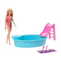 Barbie® Doll and Pool Playset – Barbie