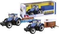 Traktori ja peräkärry 30 cm – Bburago