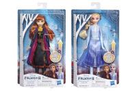 Elsa tai Anna -nukke  valomekolla 30 cm – Disney Frozen II
