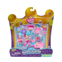 Shopkins Happy Places Welcome Pack, Squirrel Palace Party – Shopkins