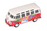 VW Samba Hippiepaku 11,4 cm punainen – Maisto