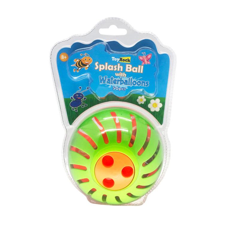 Pokspallo ja 50 vesi-ilmapalloa – Toyrock Summer