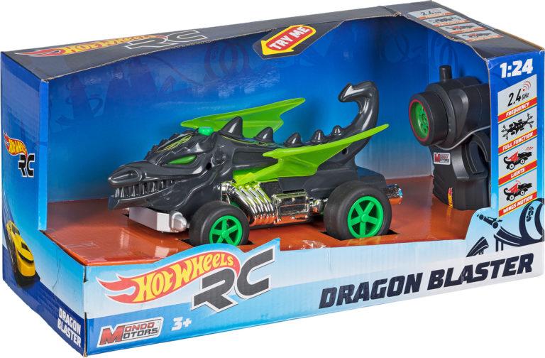 R/C Dragon Blaster – Hot Wheels