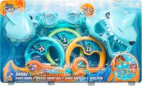 Dive Rings Shark 3 Pack Blister Card – Aqua Crea