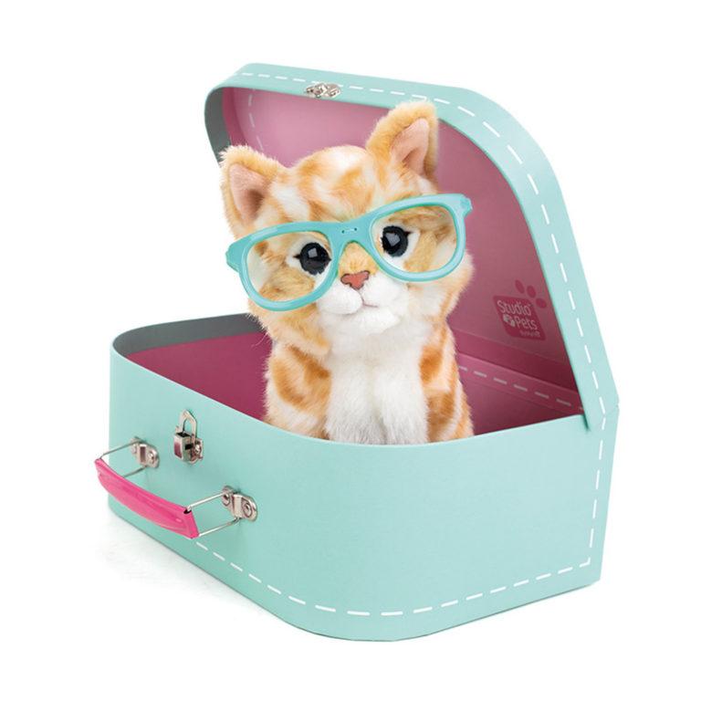Studio Pets -pehmo matkalaukussa. Lajitelma, Iso – Studio Pets