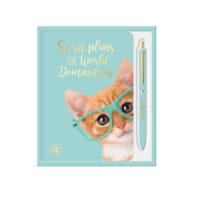 Studio Pets A6-vihko ja kynäsetti, kissa – Studio Pets