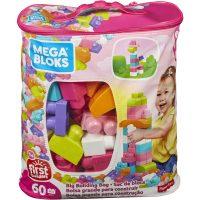 First Builders™ Big Building Bag Pink – Mega Bloks