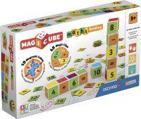 Geomag Magicube Maths Building 10 cubes + 45 clips – Geomag