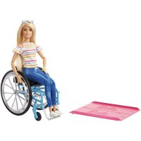 Barbie® Fashionistas® Doll with Wheelchair – Barbie
