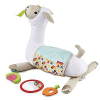 Fisher-Price® Grow-with-Me Tummy Time Llama  – Fisher-Price