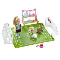 Barbie™ Dreamhouse Adventures Chelsea™ Doll with Soccer Playset – Barbie