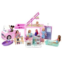 Barbie® 3-in-1 DreamCamper® Vehicle and Accessories  – Barbie