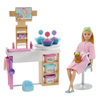 Barbie® FaceMask Spa Day Playset – Barbie