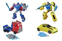 Bumblebee Cyb Adventures Battle Call Officer Class ääniohjattava hahmo 25 cm – Transformers