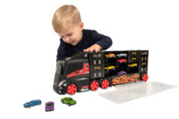 Iso autonkuljetusrekka +pikkuautot – Teamsterz