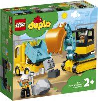 Kuorma-auto ja telakaivuri – LEGO DUPLO