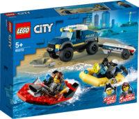 City Police 60272 Poliisin valiojoukkojen veneenkuljetus – Lego
