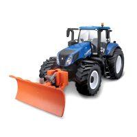 R/C Traktori lumiauralla New Holland 42 cm 27 MHz – Maisto Tech
