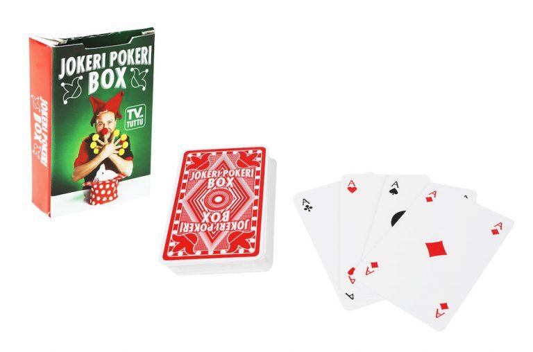Jokeri Pokeri Box taikapelikortit – Jokeri Pokeri Box