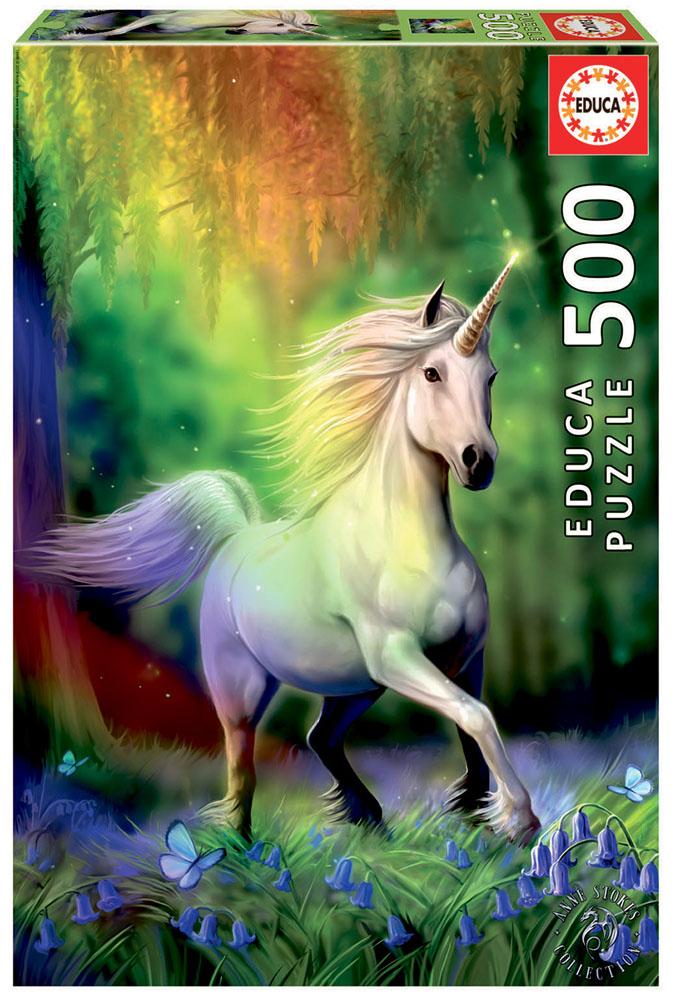 Rainbow Unicorn, 500 palaa – Educa