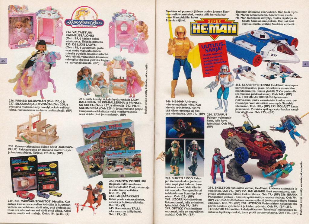 Lelukirjan aukeama 1989: He-Man