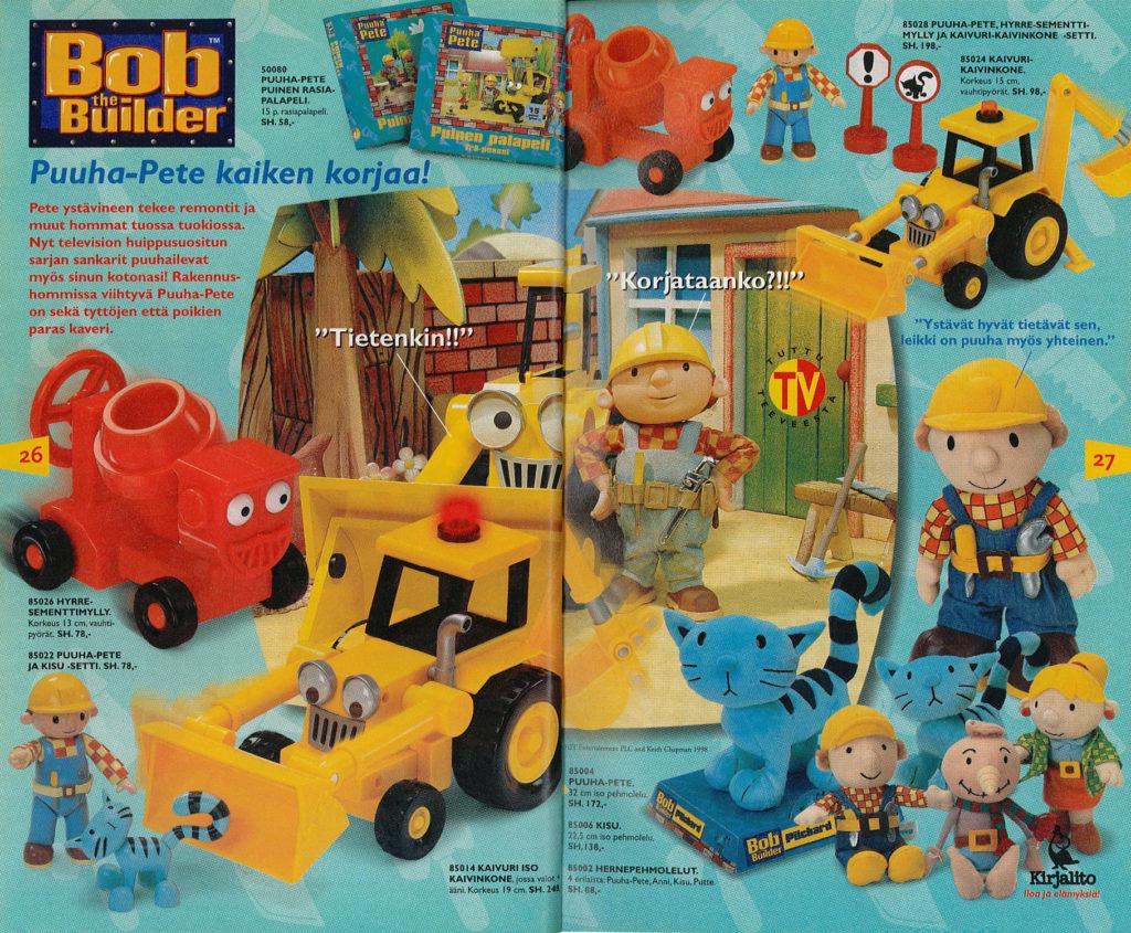 Lelukirjan aukeama 2000: Puuha-Pete