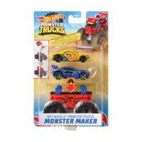 Hot Wheels®Monster Trucks Monster Maker – Hot Wheels