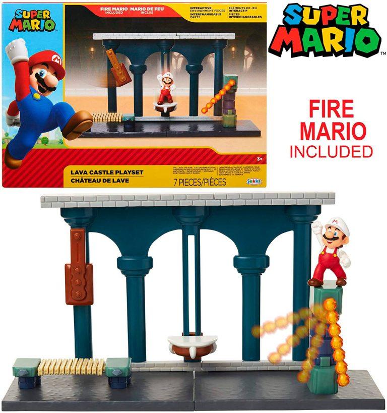 Super Mario leikkisetti Delux, Laava linna – Nintendo Super Mario