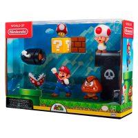 Super Mario 5 figuurin leikkisetti – Nintendo Super Mario
