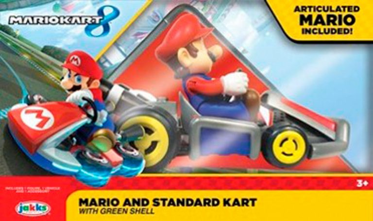 Super Mario Spin Out Kart, 2 lajitelma – Nintendo Super Mario