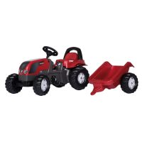 RollyKid Valtra traktori ja perävaunu – Rolly Toys