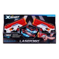 X-Shot Laser 360 Blaster -setti – X-Shot