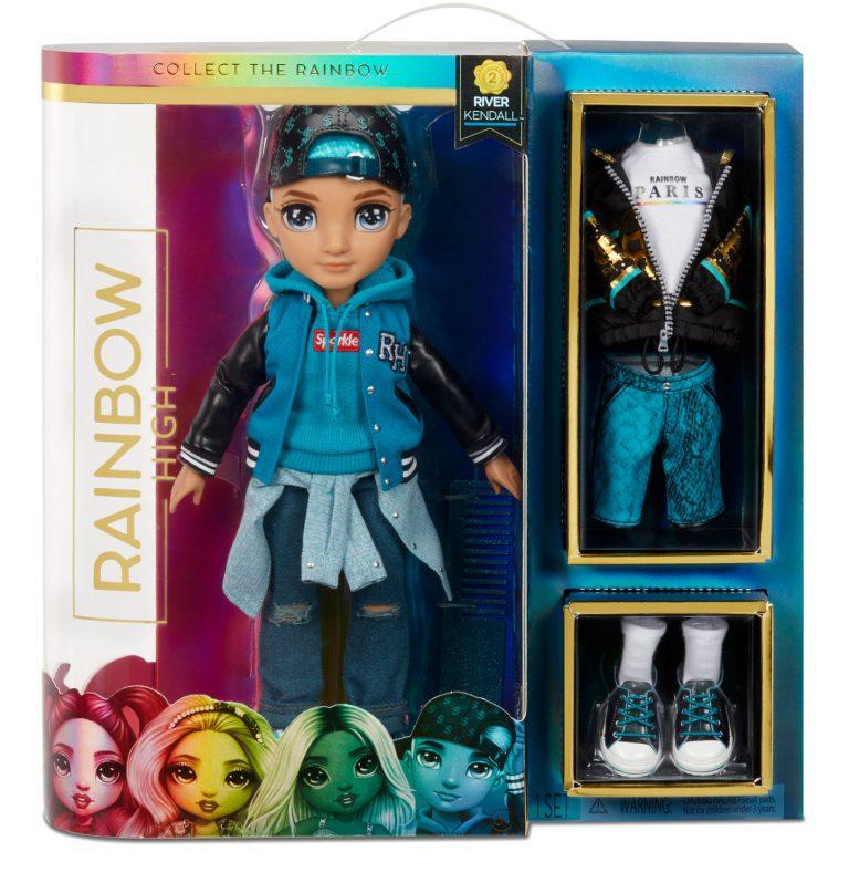 Rainbow High Fashion Doll – River Kendall – Rainbow High