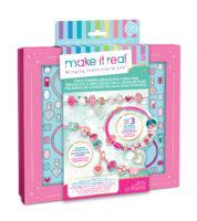 "MAKE IT REAL DIY Set – Halo Charms Bracelets ""Think Pink"" – Make It Real"